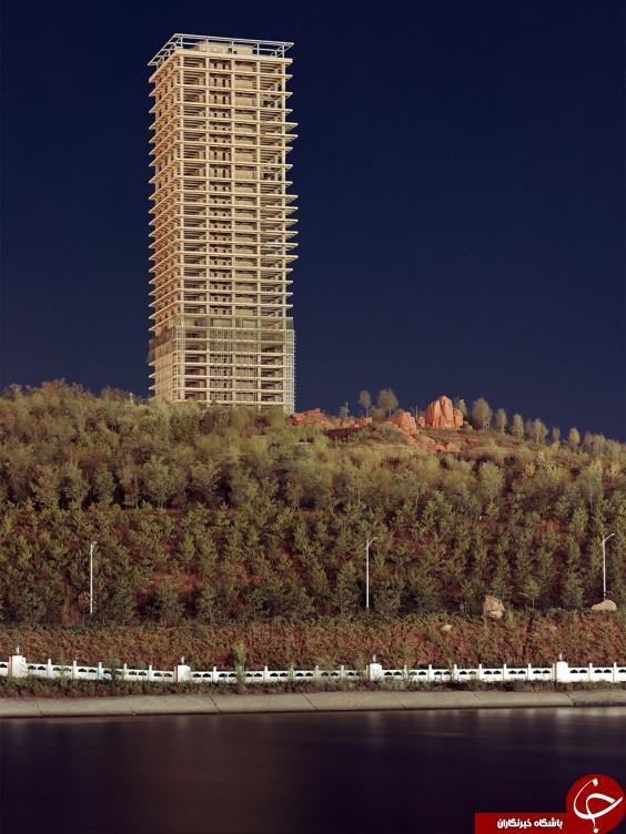 شهرهای متولد نشده چین! +تصاویر