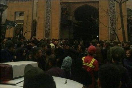 آخرین تصاویر و گفتگو با شاهدان انفجار مهیب بازار تهران