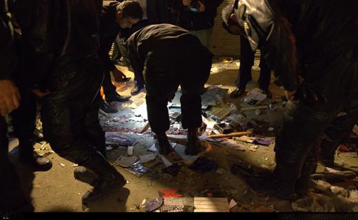 بازداشت یک مظنون در حادثه انفجار بازار