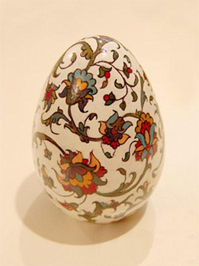 تزئین تخم مرغ سفره هفت سین نوروز ۹۵