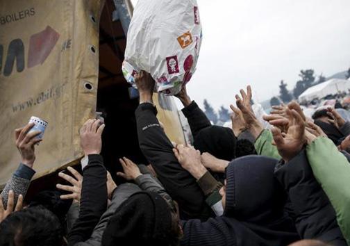 رفتار شرمآور اروپاییها با زنان پناهجو
