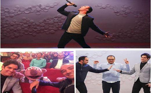 قصههای امیرعلی گریه جناب خان را درآورد/ اجرای زنده احسان کرمی در شب خندوانهایها