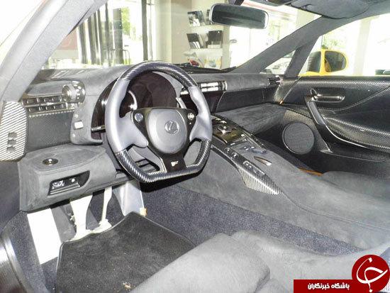 امضای مدیر عامل تویوتا بر روی ماشین 7میلیون دلاری +تصاویر