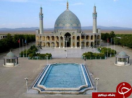 امامزاده ای که بزرگترین گنبد در خاورمیانه را دارد