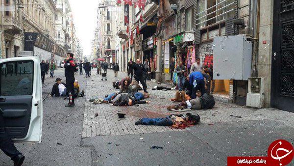 وقوع انفجار در مرکز استانبول/ حمله، انتحاری بوده است