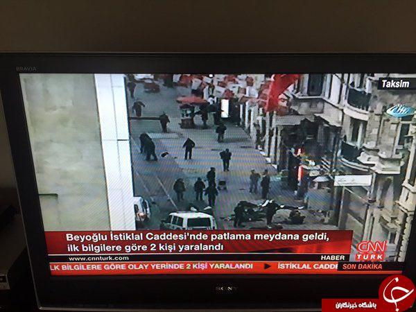 وقوع انفجار در مرکز استانبول/ حمله، انتحاری بوده است+ عکس