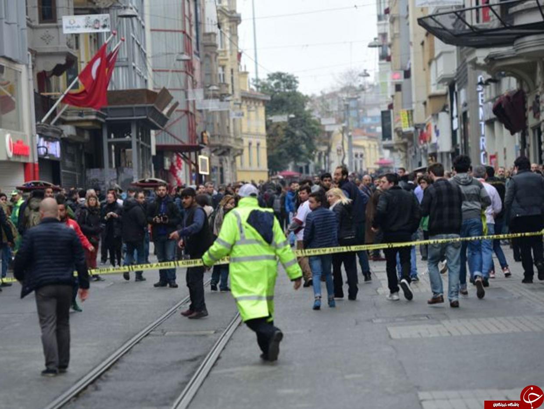 وقوع انفجار در مرکز استانبول/ حمله، انتحاری بوده است+ تصاویر