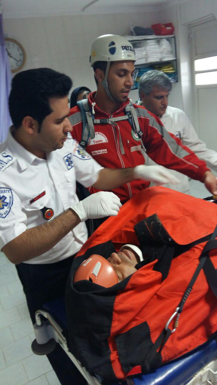 سقوط کوهنورد 46 ساله حادثه ساز شد + تصاویر