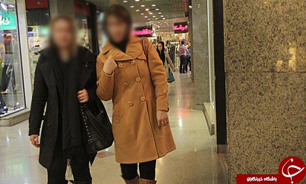 دخترانی که برای خودنمایی پاساژگردی می کنند +تصاویر