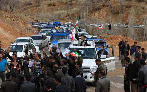 4190847 753 استقبال مردم روستاهای دورافتاده از کاندیدها +تصاویر