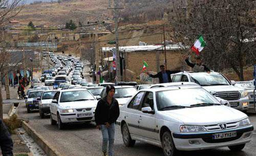 4190848 367 استقبال مردم روستاهای دورافتاده از کاندیدها +تصاویر