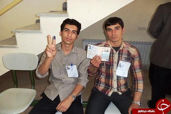 شبکه های اجتماعی در تسخیر رای اولی ها +تصاویر