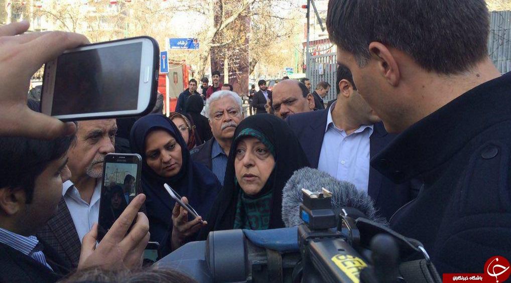حضور مسئولین و شخصیت های سیاسی پای صندوق های رای + تصاویر//در حال کار