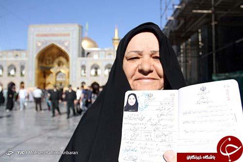 حضور حماسی مردم سراسر ایران پای صندوق های رای به روایت تصویر