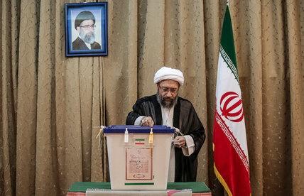 روسای سه قوه رای در انتخابات شرکت کردند+ تصاویر