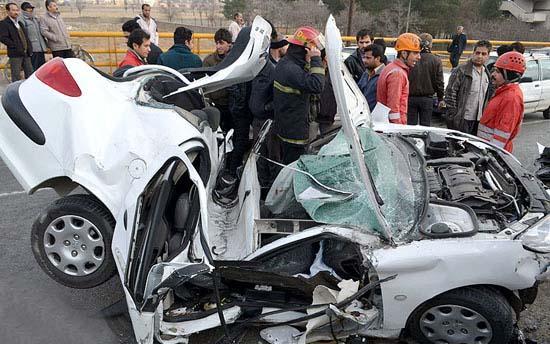 نتیجه تصویری برای تصادف 206