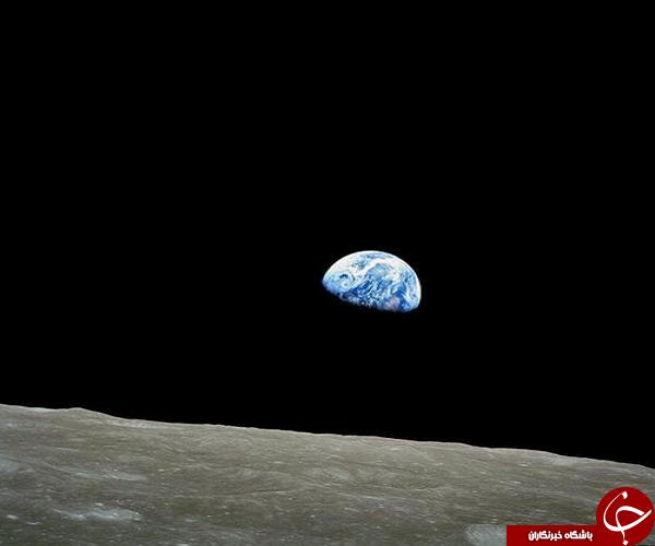 طلوع زمین در ماموریت آپلو +عکس
