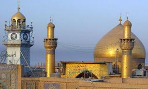3145820 924 گل آرايي حرم مطهر حضرت علی(ع) با همت مردم فارس