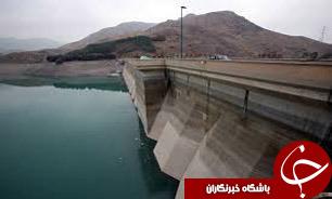 کاهش 5.6 درصدی آب سدهای کشور