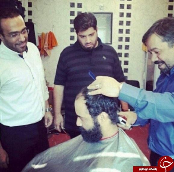 مداح معروفی که آرایشگر شد! + عکس