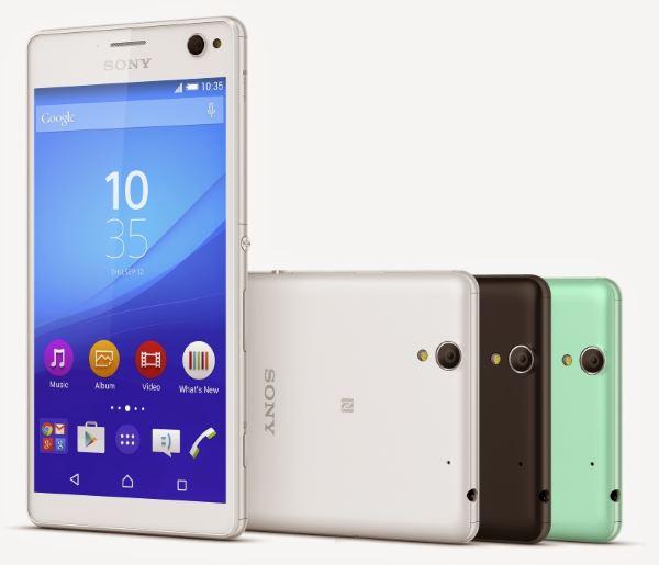 تلفن هوشمند سونی اکسپریا C4 رسماً معرفی شد