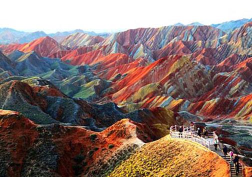 تصاویری از مکانهای عجیب و دیدنی روی کره زمین