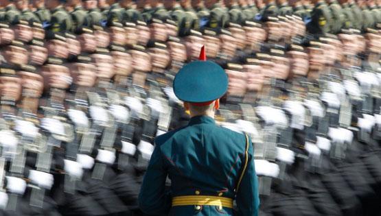 رژه روز پیروزی در مسکو+تصاویر