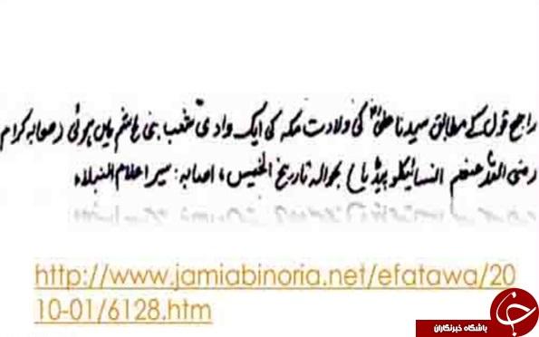 حضرت علی در کعبه بدنیا نیامده است! + عکس