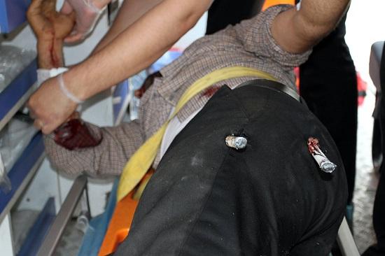حادثه دلخراش برای کارگر مشهدی