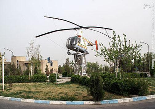 اولین بالگردی که وارد ایران شد+عکس