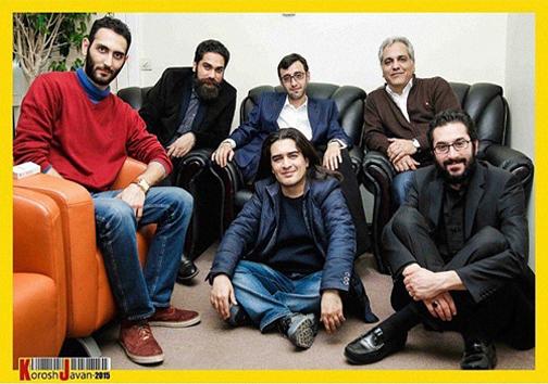 مهران مدیری در کنار پسرش+عکس
