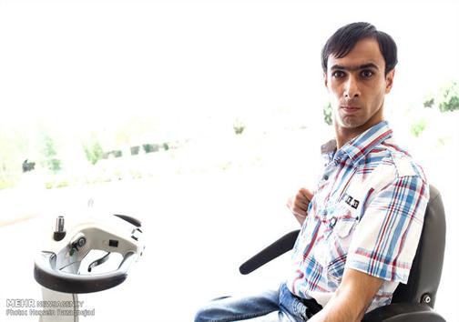 معلول ایرانی که ۱۳۰ اختراع دارد +عکس