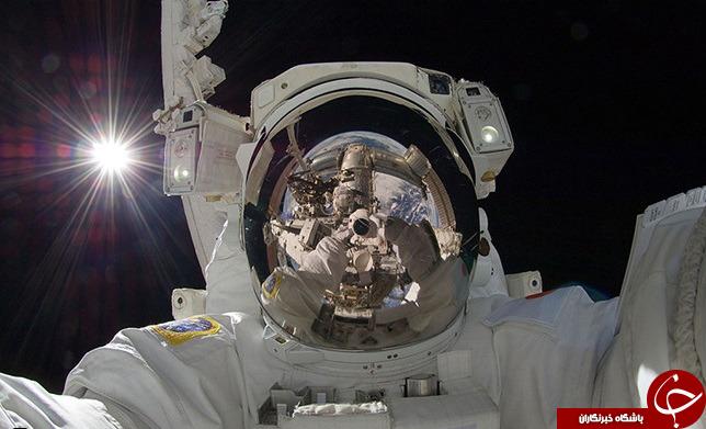سلفیهای فضایی+عکس