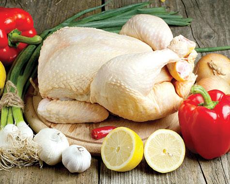 مرغ سبد کالا مرغ سالم