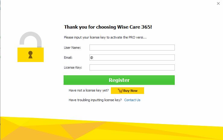 مراحل راه اندازی نرم افزار wise care 365-در حال کار