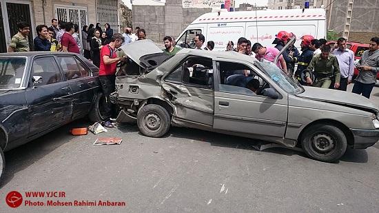 پرادو سوار بدشانس شناسایی شد/ رها کردن قربانی حادثه در میان آهن پارهها