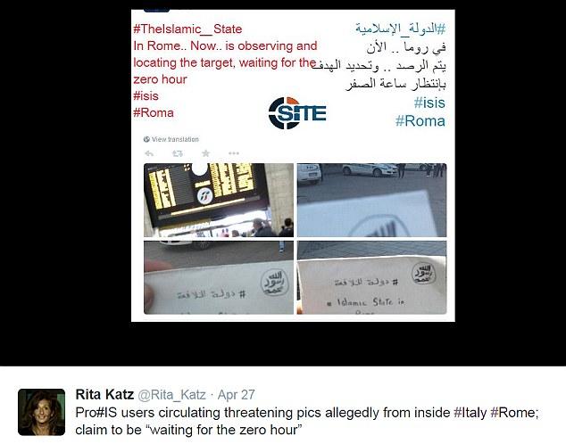 حضور داعش در قلب ایتالیا + عکس