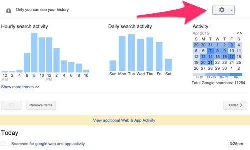 با این ترفندها تمامی اطلاعات خود را از جستجوگر گوگل خود حذف کنید