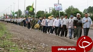 3241094 919 کاروان سواره اتباع آذربايجانی زائرمرقد امام راحل به ایران