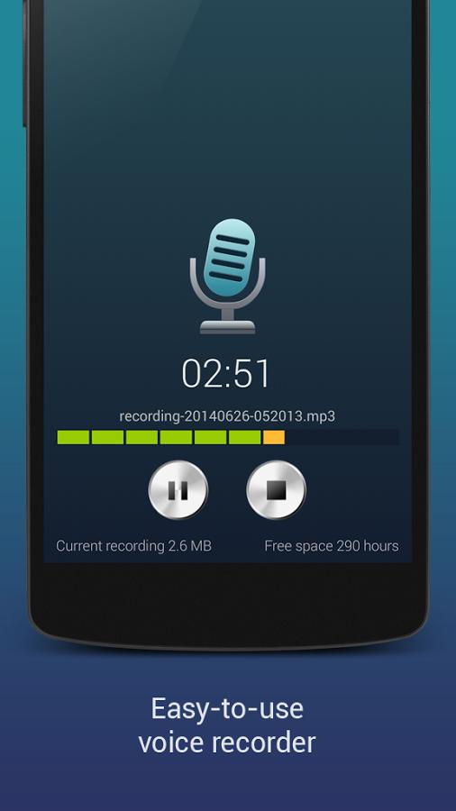 کاملترین نرم افزار ضبط صدا برای اندروید