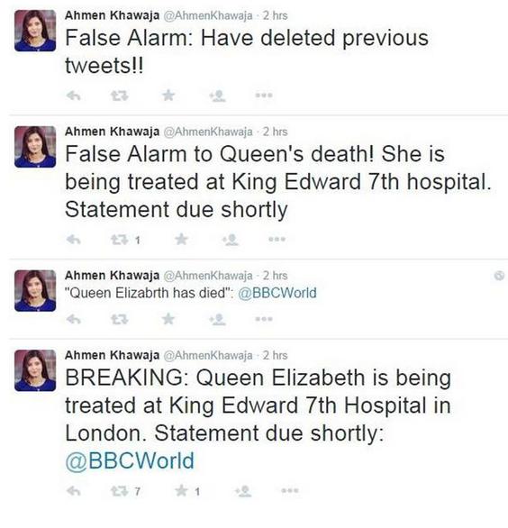 خبرنگار بی بی سی ملکه الیزابت را کشت/// در حال کار