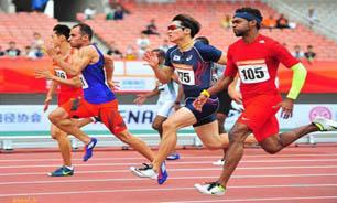 کسب نخستین مدال تاریخ دوومیدانی ایران در دو ۱۰۰ متر آسیا