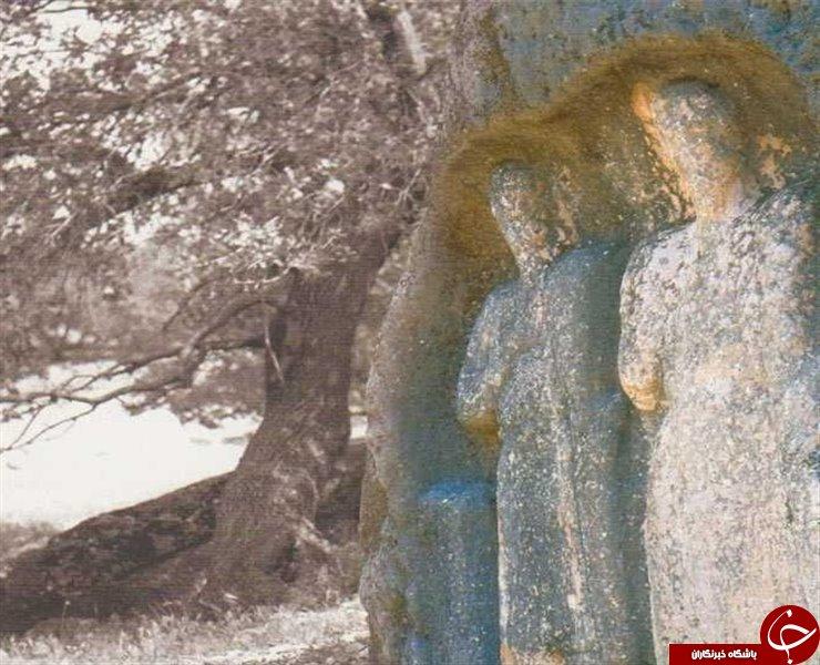 سنگهایی عجیب به شکل انسان + تصاویر