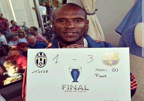 عنوان قهرمانی لیگ قهرمانان اروپا به بارسلونا رسید + عکس