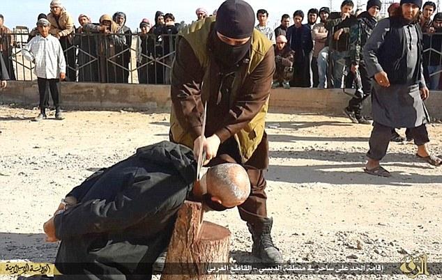 جنایتکارترین پلیس داعش + تصاویر