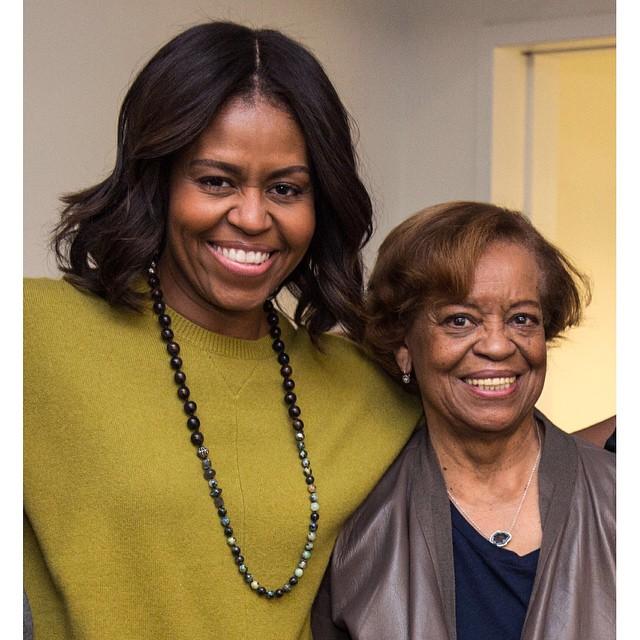 مادر زن اوباما+عکس