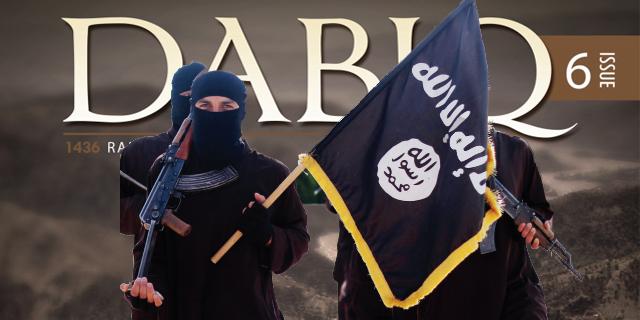 تصاویر روی جلد مجله داعشی