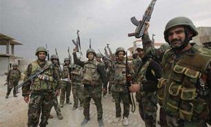 تسلط کامل ارتش سوريه بر منطقه راهبردی