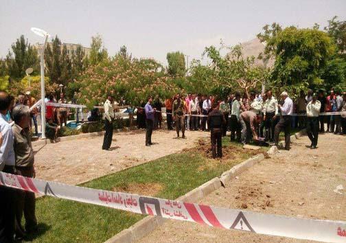 دو گلوله توپ جنگی در اصفهان شلیک شد+عکس