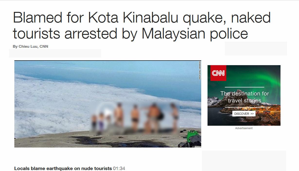 جنجال برهنگی گردشگران مالزی در فضای مجازی